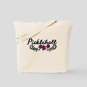 Pickleball Art Tote Bag