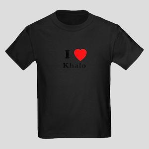 I Heart Khalo Kids Dark T-Shirt