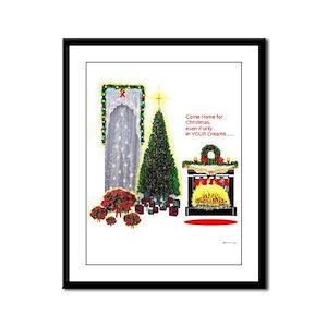 Come Home for Christmas Katrina /Frame Panel Print