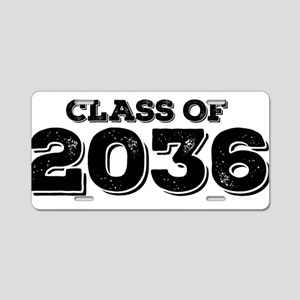 Class of 2036 Aluminum License Plate