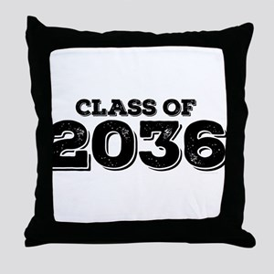 Class of 2036 Throw Pillow