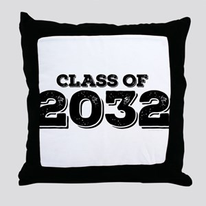 Class of 2032 Throw Pillow