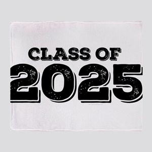 Class of 2025 Throw Blanket