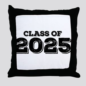 Class of 2025 Throw Pillow
