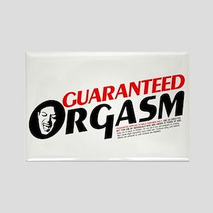 Guaranteed Orgasm Rectangle Magnet