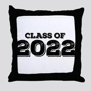 Class of 2022 Throw Pillow