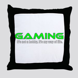 Gaming Is Life Throw Pillow