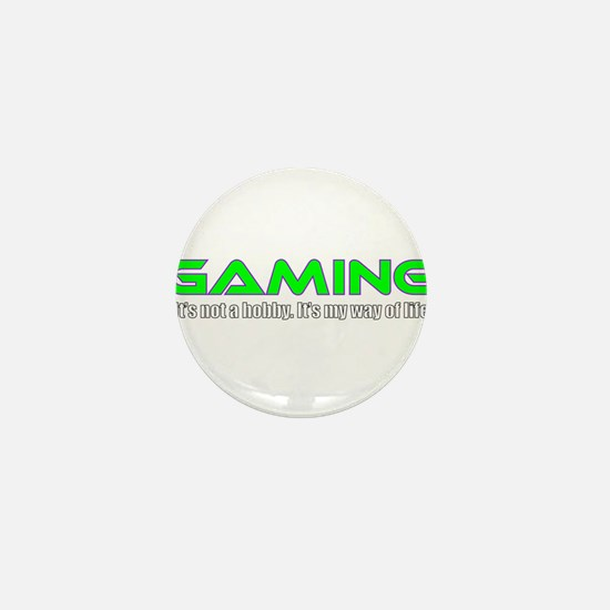 Gaming Is Life Mini Button