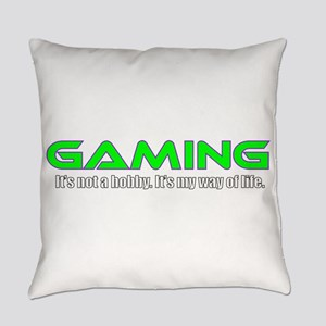 Gaming Is Life Everyday Pillow