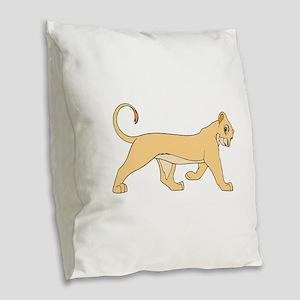 The Lion King lioness Burlap Throw Pillow