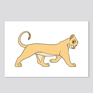The Lion King lioness Postcards (Package of 8)