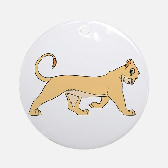 The Lion King lioness Round Ornament