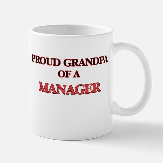 Proud Grandpa of a Manager Mugs