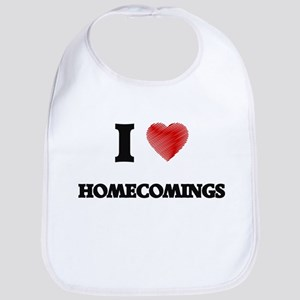 I love Homecomings Bib