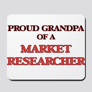 Proud Grandpa of a Market Researcher Mousepad