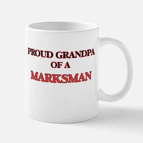 Proud Grandpa of a Marksman Mugs