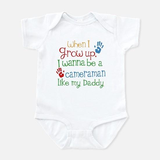 Cameraman Like Daddy Infant Bodysuit
