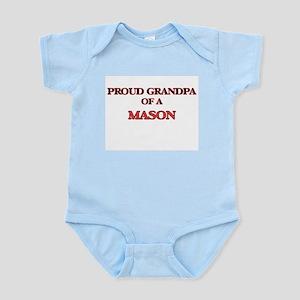Proud Grandpa of a Mason Body Suit