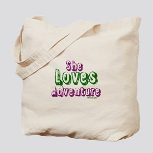 Gifts for Any Occasion ~ She Loves Adventure Tote
