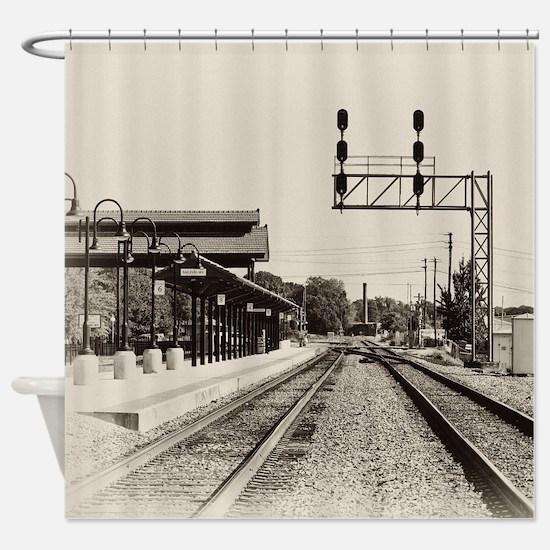 Salisbury Depot Shower Curtain