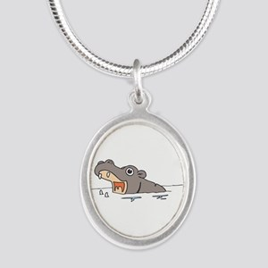 Hippo in Water Necklaces