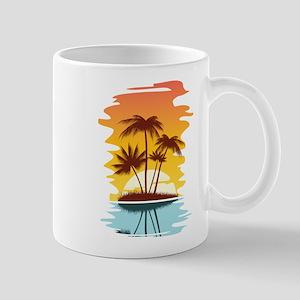 Tropical Sunset Mugs