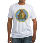 USS DALE Fitted T-Shirt