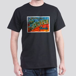 St. Petersburg Postcard Dark T-Shirt