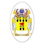 Rosenshtrom Sticker (Oval 10 pk)