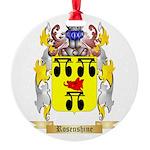 Rosenshine Round Ornament