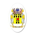 Rosensaft 20x12 Oval Wall Decal