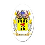 Rosensaft 35x21 Oval Wall Decal