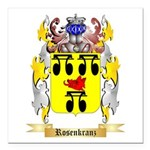 Rosenkranz Square Car Magnet 3