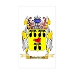 Rosenkrantz Sticker (Rectangle 50 pk)