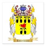 Rosenkranc Square Car Magnet 3