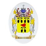 Rosenkranc Oval Ornament