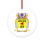 Rosenkranc Round Ornament