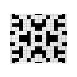 Crossword Fleece Blankets
