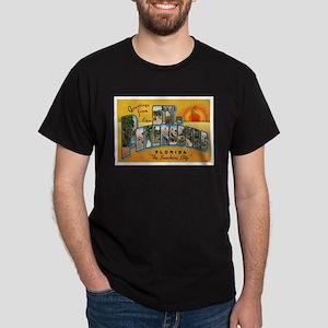 St. Petersburg Postcard Dark T-Shirt