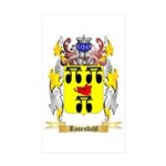Rosendahl Sticker (Rectangle 50 pk)