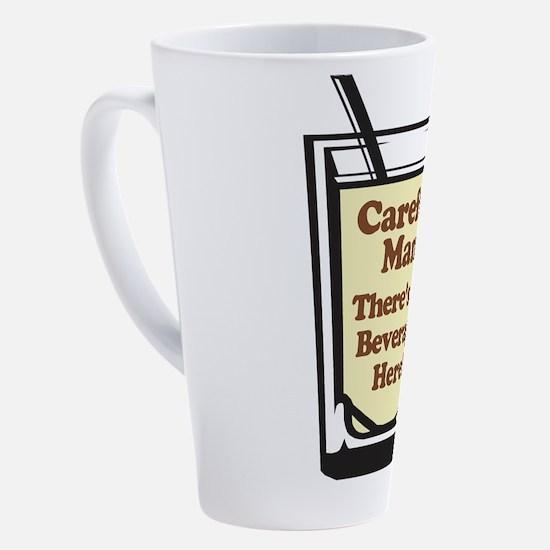 Cute Careful 17 oz Latte Mug