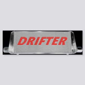 Drifter Intercooler Bumper Sticker