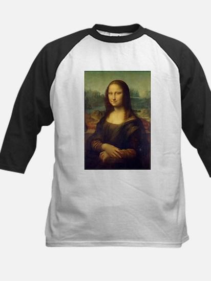 The Mona Lisa - Gioconda - Leonard Baseball Jersey