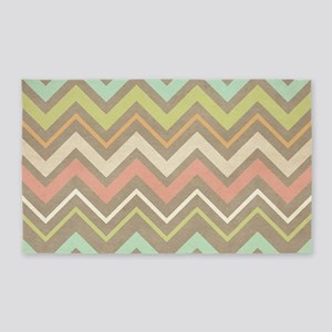Chevron Pattern Area Rug
