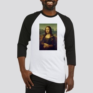 The Mona Lisa - Gioconda - Leonard Baseball Jersey