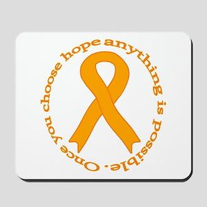 Orange Hope Mousepad