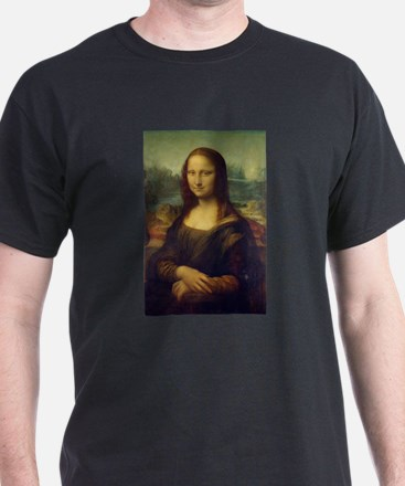 The Mona Lisa - Gioconda - Leonardo da Vin T-Shirt