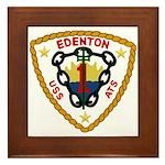 USS Edenton (ATS 1) Framed Tile