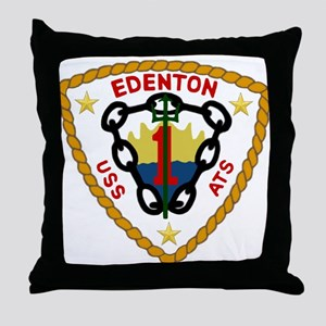 USS Edenton (ATS 1) Throw Pillow