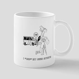 I_did_my_own_stunts_t-shirt_design Mugs